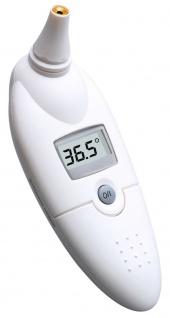 Einfache hygienisches Infrarot Fiebermessung im Ohr