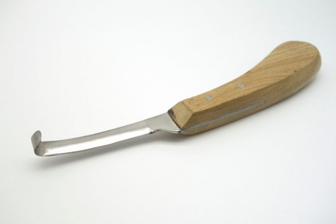 Hufmesser links