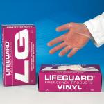 Handschuhe Vinyl XL