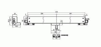 Fensterantrieb Kettenantrieb QUASAR, 24V,Hub 500mm - Vorschau 5