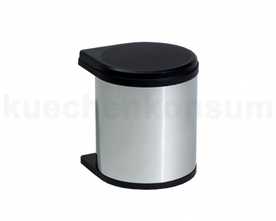 Hailo Mono Abfallsammler 12 Chrom Swing 40.1/12 bs Mülleimer Einbau Abfalleimer