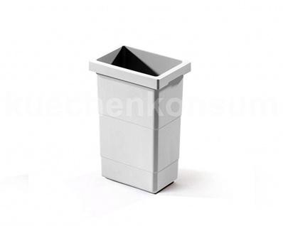 Hailo Inneneimer Kunststoff grau 2, 5 L Abfallsammler Mülleimer Mistkübel Einsatz