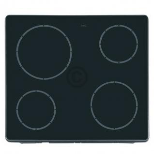 Whirlpoo Ersatz Glasfläche f Glaskeramikplatte 481944059809 Kochfeld Herd