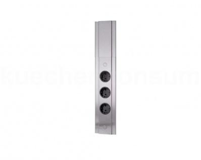 Thebo Ecksteckdose ST 3072/3 Stromverteiler Edelstahl Energiebox PowerPort 3fach