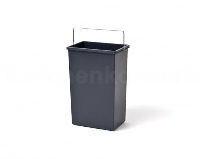 Hailo 10 Liter Inneneimer 1045639 für Terzett Mülleimer mit Henkel 3666-13