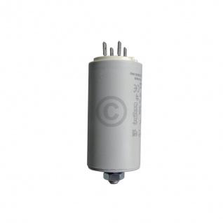 Kondensator 16, 00µF 450V Universal mit Steckfahnen und Befestigungsschraube