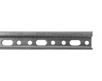 Aufhängeschiene Hängeschrank 12 Montageschiene Stahl verzinkt Wandhaken gelocht
