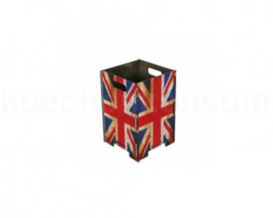 Papierkorb britische Flagge Mülleimer Abfalleimer Abfallbehälter Müllbehälter kl