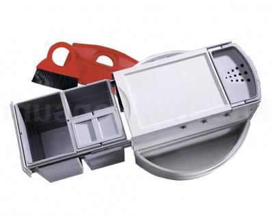 Hailo Rondo Comfort 3646-23 Eckabfallsammler Mülleimer Abfalleimer Einbau 3 fach