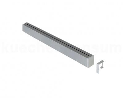 Linero MosaiQ Relingprofil 900 mm Relingstange Relingsystem Aufnahme Relingrohr