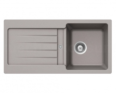 Granitspüle Typos D-100 S ARENA Becken Ablage Einbauspüle Küchenspüle