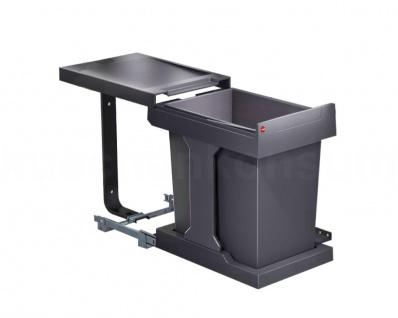 Hailo Abfallsammler AS Swing 40.1/2 Solo 20 Mülleimer Einbau Abfalleimer 3636-00
