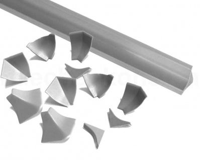 Wandabschlussprofil Piccolo 14 WAP 5 m Rolle 13 x 13 mm WAPleiste Rückwandprofil