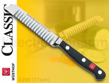 Wüsthof 4200 Classic Buntschneidemesser 11cm Dreizack Messer Küchenmesser - Vorschau 2