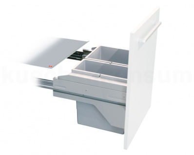 Hailo Abfallsammler CS Slide 50.2 Cargo-Soft Short Mülleimer Abfalleimer 20 + 14