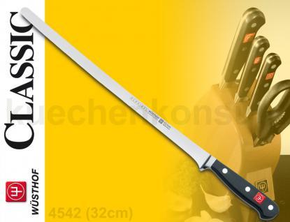 Wüsthof 4542 Classic Lachsmesser 32cm Dreizack Messer Küchenmesser - Vorschau 2