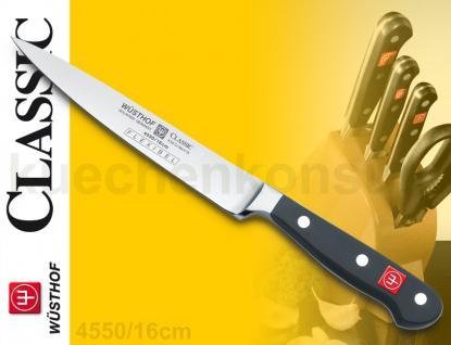 Wüsthof 4550 /16 Classic Filiermesser 16cm Dreizack Messer Küchenmesser - Vorschau 2