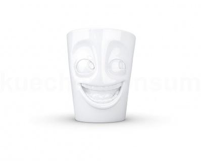 Henkeltasse Teetasse witzig ws Gesichtstasse TV Tasse Kaffeebecher Kaffeepott