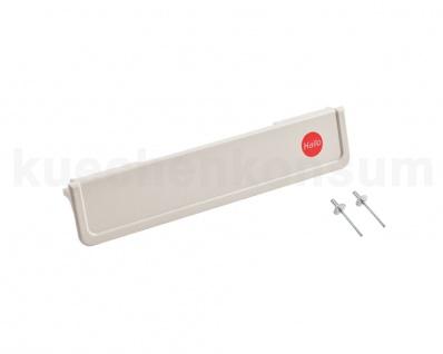 Hailo Griffleiste 1125319 weiß für Multi-Box 2x15 3659-00 und Tandem 3650-10