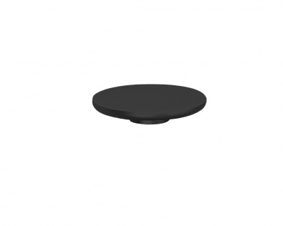 1 fach Bakelit schwarz eckig THPG für Schalter // Steckdose Abdeckrahmen