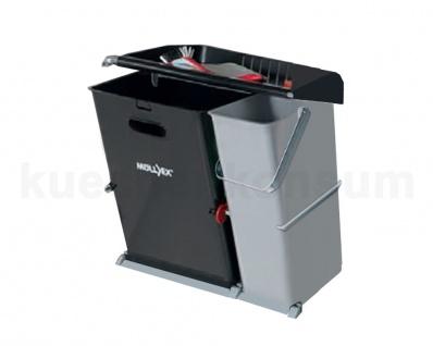 Abfallbehälter Budget Kipp 35/17 4930.52 Müllsammler Abfallsammler Mistkübel