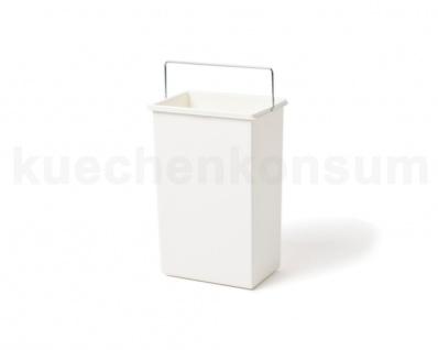 Hailo Ersatzeimer 10 Liter 1045629 weiß eckig für Terzett 3666-03