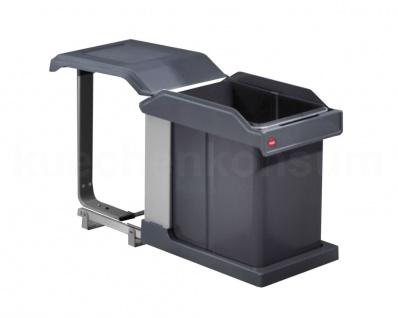 Hailo Abfallsammler MS Swing 40.1/2 Solo 20 Mülleimer Einbau Abfalleimer 3634-10