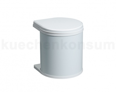 Hailo Abfallsammler MO Swing 40.1/12 Mono 12 L weiß 3512-00 Mülleimer schwenkbar