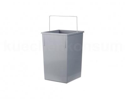 Hailo 15 L Inneneimer Henkel Grau Multi-Box Ersatzeimer Abfalleimer Mistkübel