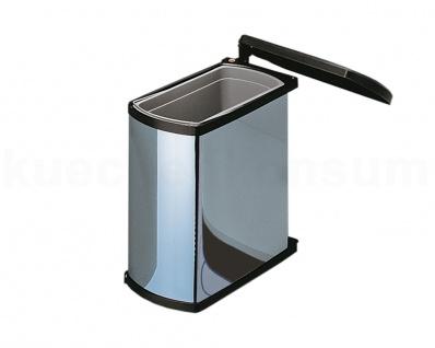 Hailo Abfallsammler MF Swing 45.1/18 bs Uno 18 L Mülleimer Einbau Abfalleimer