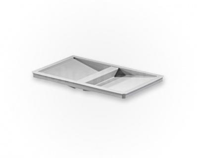 Hailo Deckel 1100719 für Inneneimer 1073979 1076129 1100709 Kunststoff hellgrau