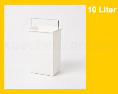 Hailo Ersatzeimer 10 Liter 1045629 weiß eckig für Terzett 3666-03 - Vorschau 2
