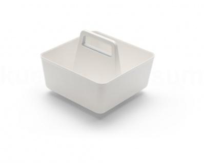 Hailo Pantry-Box Tragebox weiß Vorratsbox Tragekorb Einsatz weiß Korb m Henkel