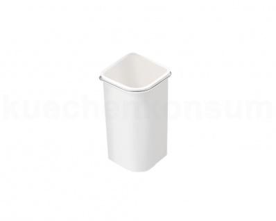 Hailo Abfallsammler Pico Huckepack MF Swing 45.1/5 weiß 5 L f. Uno Duo Mülleimer