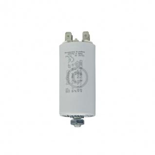 Kondensator 12, 00µF 450V Universal mit Steckfahnen und Befestigungsschraube