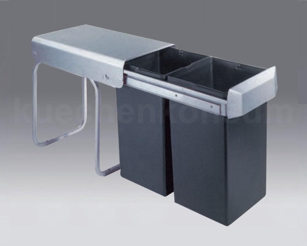 Wesco Abfallsammler Profi-Double-Boy 30 DT Einbau Mülleimer ...