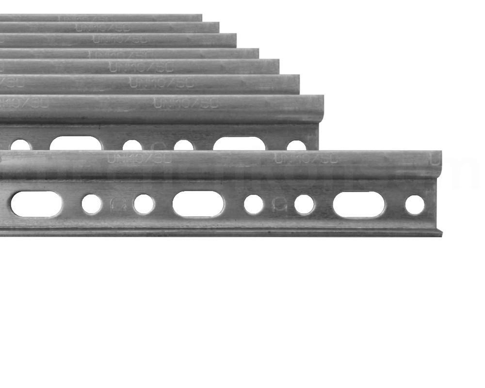 aufh ngeschiene h ngeschrank 8 stck 12 cm montageschiene stahl wandhaken gelocht kaufen bei. Black Bedroom Furniture Sets. Home Design Ideas