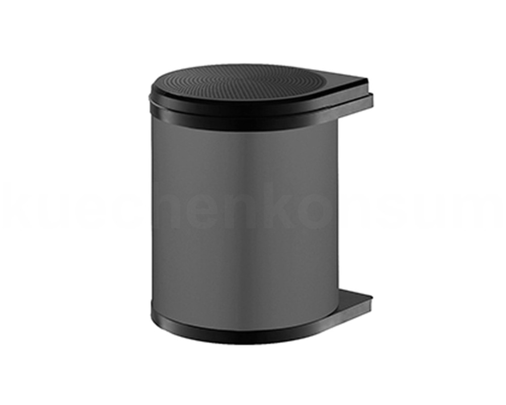 Hailo Abfallsammler MO Swing 40.1//12 Mono 12 L weiß 3512-00 Mülleimer schwenkbar