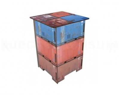 Werkhaus Photohocker Container Beistelltisch Tritt Nachtschränkchen SH8004