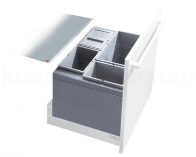 Hailo Abfallsammler XT Inset 60.4/54 Triple-XL 3x 10 + 24 L Mülleimer Einsatz