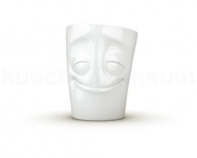 Henkeltasse Teetasse vergnügt ws Gesichtstasse TV Tasse Kaffeebecher Kaffeepott