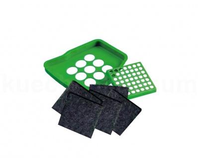 Bio Deckel Nachrüstsatz Grün Abfallsammler Filterdeckel Satz Filtereinsatz
