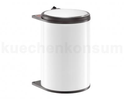 Hailo Big Box Abfallsammler Mülleimer 3720-00 weiß Einbau Abfalleimer 20 Liter