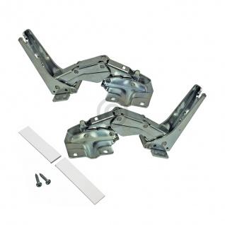 Kühlschrankscharnier Türscharnier Set Bosch 00481147 für Kühlschrank Bosch AEG