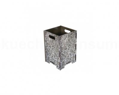 Papierkorb Waschbeton Mülleimer Abfalleimer Abfallbehälter Müllsammler Henkel