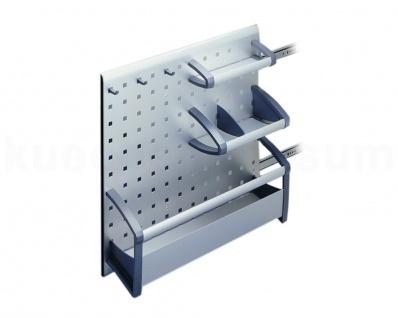Hailo Ordnungssystem Combi Vario AluLine Auszug Schrankauszug Regalfach ab 20 cm