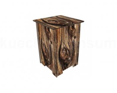 Werkhaus Photohocker Holz Beistelltisch Tritt Nachtschränkchen Steighilfe Sitz