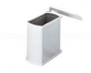 Hailo Abfallsammler MF Swing 45.1/18 weiß Uno 18 L Mülleimer Einbau Abfalleimer