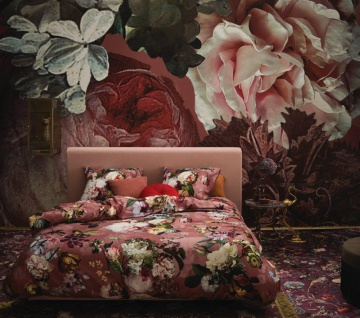 Bettwäsche 155x220+80x80 cm von Essenza Fleur Dusty Rosé - Vorschau 2