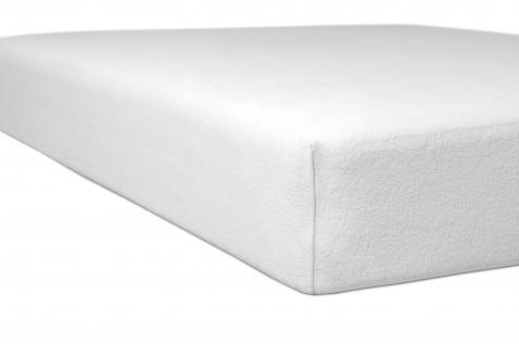Matratzen Schutz- und Schonbezug 90x200-100x220 cm von Kneer Comfort Molton Stretch Spannbetttuch